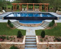 Backyard Pool Pictures Best 25 Infinity Edge Pool Ideas On Pinterest Luxury Homes