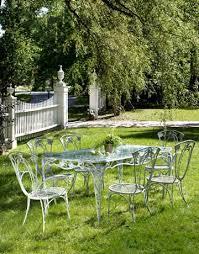 brilliant vintage metal patio furniture house design concept wrought