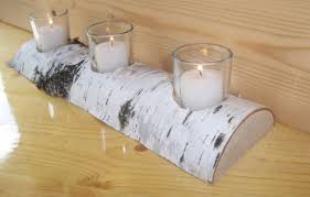 birch log candle holder for fireplace all you need to know about