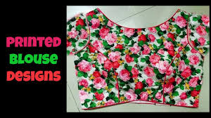 printed blouse printed blouse designs