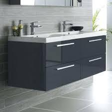 56 double sink bathroom vanity oak beam double sink vanity unit 56