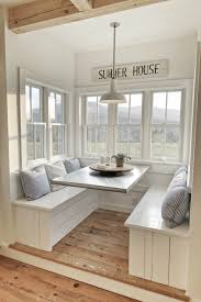 Vermont Country Kitchen - a brilliant breakfast nook vermont parents and modern