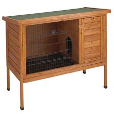 Large Bunny Cage Premium Large Rabbit Hutch 01516 The Home Depot