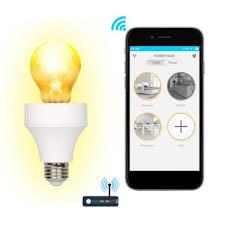 smart light bulbs amazon lustreon e26 e27 wifi smart light bulb adapter l holder works