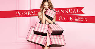 s secret semi annual sale when what and where