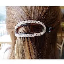 the hair grip oval hair claws hair accessories for women simple hair grip arched