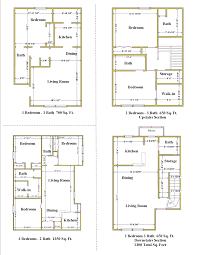 melrose floor plans