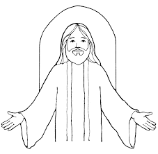 jesus black and white free download clip art free clip art