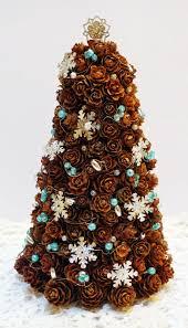 Pine Cone Christmas Tree Handmade Crafts My Crafts Pinterest