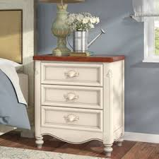 French Country Nightstand - drawer french country nightstands you u0027ll love wayfair