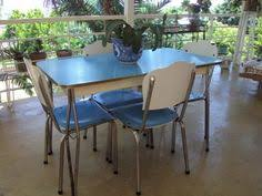 Restored S Laminex Formica Retro Kitchen Table Chairs Dressers - Formica kitchen table