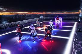 backyard ice rink lighting u2022 curling hocke rink lighting news