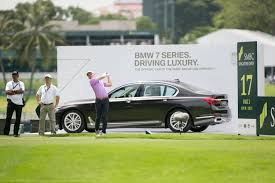 vip bmw 7 series bmw returns as the official car of smbc singapore open 2017 golf