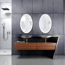 home depot lighted mirrors led lighted mirrors bathrooms oval led lighted bathroom mirror with