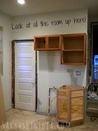 Make Kitchen Cabinets Making Kitchen Cabinets Taller Sarah U0027s Big Idea