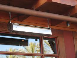 Patio Heater Infrared by Sunpak S34 S Tsr Wall Ceiling Mounted Two Stage Infrared Heater