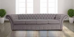 fabric chesterfield sofa buy mist grey fabric chesterfield sofa designersofas4u