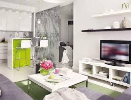 Bedroom Ideas Green Carpet Modern White Shelves On The White Wall Decorate Apartment With