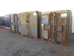 secondhand portable buildings shipping containers 6 u0027 x 6 u0027 x 7