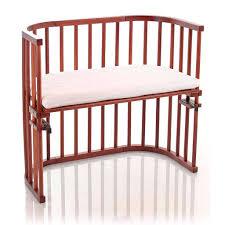 babybay co sleeping cot dark wood u2013 natural baby shower