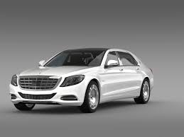 maybach mercedes benz mercedes maybach s600 x222 2015 by creator 3d 3docean