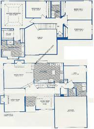 Aspen Heights Floor Plan by Grosse Pointe Village Subdivision In Vernon Hills Illinois Homes