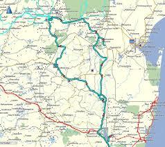 Swaziland Map Richards Bay To Nelspruit Via Swaziland