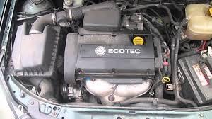 vauxhall astra 1 6 16v j16 xep engine code at a u0026c youtube