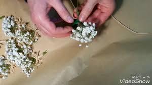 boutonniere mariage comment faire une boutonnière simple mariage avec gypsophile et
