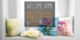 colorful sofa pillows buy throw pillows online kess inhouse