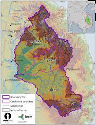 Irrawaddy River Map Icem Portfolio