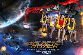 Six Flags Boston Six Flags And Samsung Team Up For A New U0027mixed Reality U0027 Roller