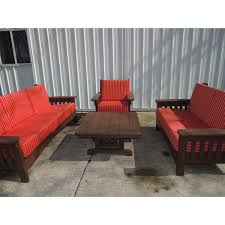Amish Poly Outdoor Furniture by Poly Upholstered Outdoor Furniture Set Amish Crafted Furniture