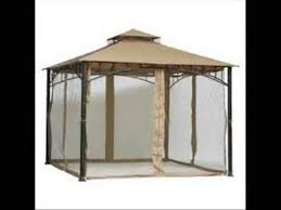 outdoor patio gazebo mosquito netting youtube