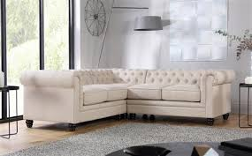 Chesterfield Sofa Fabric Hton Slate Fabric Chesterfield Corner Sofa L Shape Only 799 99