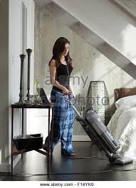 Vaccumming Vacuuming Bedroom Stock Photos U0026 Vacuuming Bedroom Stock Images