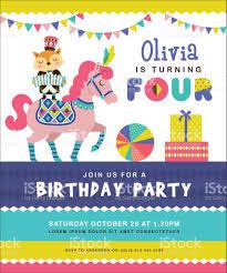 Bday Invitation Card Birthday Invitation Card Stock Vector Art 802851570 Istock
