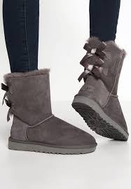 ugg sale de botas ugg donde comprar ugg bailey bow ii botines grey mujer