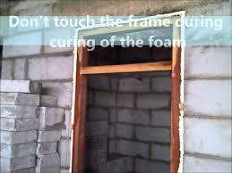 Installing Exterior Door Jamb Installing Exterior Door In Cinder Block Wall Catarsisdequiron