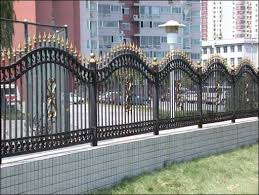 exterior fabulous wrought iron fence look so and beautiful