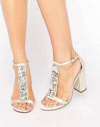 wedding shoes asos asos asos hiya bridal embellished heeled sandal