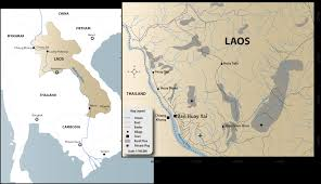 Map Of Laos Sapphminco History Of The Lao Sapphire Mines