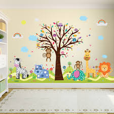 Vinyl Tree Wall Decals For Nursery by Childrens Wall Decals Uk 3d Butterfly Stickers Home Diy Wall Art