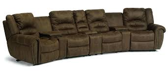 Flexsteel Sectional Sofa Flexsteel Leather Sectional Furniture Reclining Sectional Sofa New