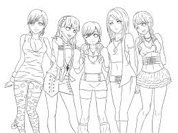 pretty girls coloring pages just colorings