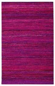 Fuschia Area Rug Vintage Sari Fabric Recycled Saris Ottoman Cover And Room Rugs