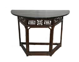 half table for kitchen decorating black half round console table half moon shaped kitchen