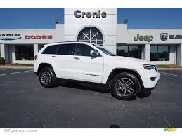jeep grand cherokee limited 2017 white 2017 bright white jeep grand cherokee limited 122212320
