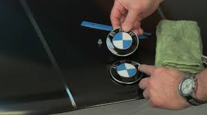 bmw and trunk roundel emblem replacement
