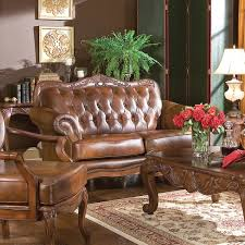 Tufted Brown Leather Sofa Coaster Company Brown Leather Tufted Sofa Free Shipping
